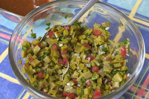 ensalada nopal